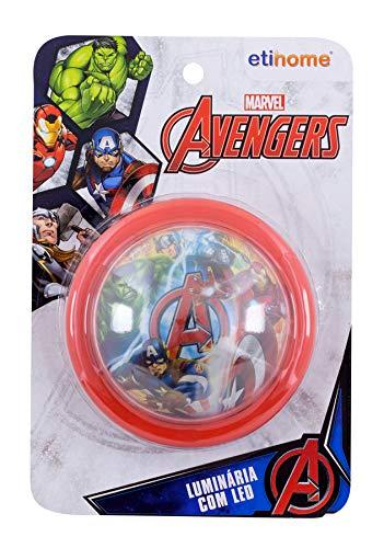 Luminária 10 Cm Avengers Etihome Luminária 10 Cm Avengers Multicor