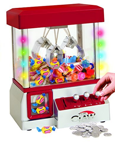 Price comparison product image Electronic Arcade Claw Machine - Toy Grabber Machine With Flashing LED Lights and Sound