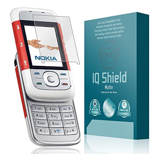 IQ Shield Matte Full Coverage Anti-Glare Screen Protector for Nokia XpressMusic 5300 Anti-Bubble Film