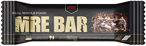 Redcon1 – MRE BAR Meal Replacement Bar – German Chocolate Cake 1 Bar