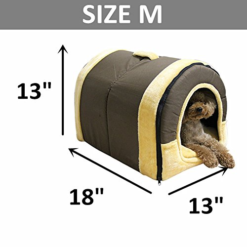 Dk Cozy 2 In 1 Pet House And Sofa Non Slip Dog Cat Igloo