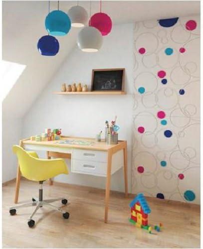 2 pcs Panneau avec motifs 3D Decoflair Bubbles 76 x 38 cm
