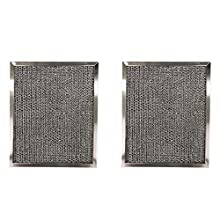Replacement Aluminum Filters Compatible with Air Care AC-1260, AC-1270, AC-1290, AC-1400, Aubrey 109, 175, 209, 221, 224, 229, Broan 99010181, BP10, BP56,GC-7503,RCP0801-8 X 9-1/2 X 3/8 (2-Pack)