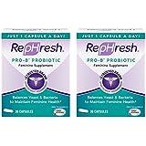 RepHresh Pro-B Probiotic Feminine Supplement -New- Value Size Package - (60 Capsules)