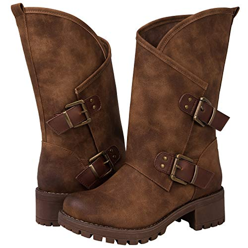 Global Win GLBALWIN Women's 18YY01 Camel Fashion Boots