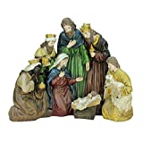 Northlight 21'' Religious Holy Family and Three Kings Christmas Nativity Scene Decoration