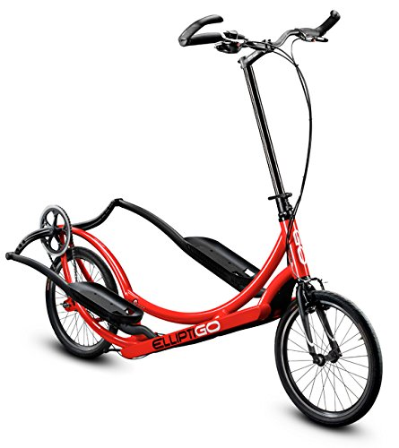 ElliptiGO 8C - The World's First Outdoor Elliptical Bike (Red)