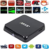 4K Ultra HD 4K2k 4X CPU Cortex-A9 8X GPU Mail-450 OTT TV Box Internet TV Smart System With Android KitKat Kodi Fully Loaded Support 3D-HD 1080Px2
