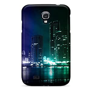 Sanp On Case Cover Protector For Galaxy S4 (colourful City)