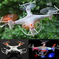 Hanbaili M62 Remote Control Quadcopter Drone,Cool Light Long Flight Time Flying Toys New Years Gift For Children