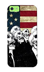 meilinF000Caroiliams Brand New Defender Case For iphone 5/5s (skulls Flags American Flag Alecherry ) / Christmas's GiftmeilinF000