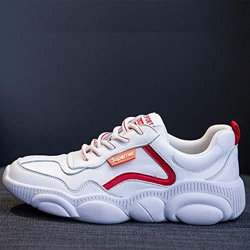5 Deporte Tamaño Mujer Salvaje Zapatos Zapatillas 6 Color Oso 5size De Zhijinli Blancos q6wfXPZ