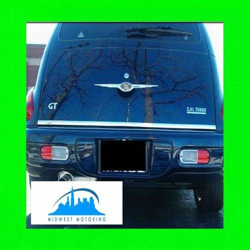 - 312 Motoring fits 2006-2011 CHRYSLER PT CRUISER PRECUT CHROME TAILGATE TRUNK TRIM MOLDING 2007 2008 2009 2010 06 07 08 09 10 11