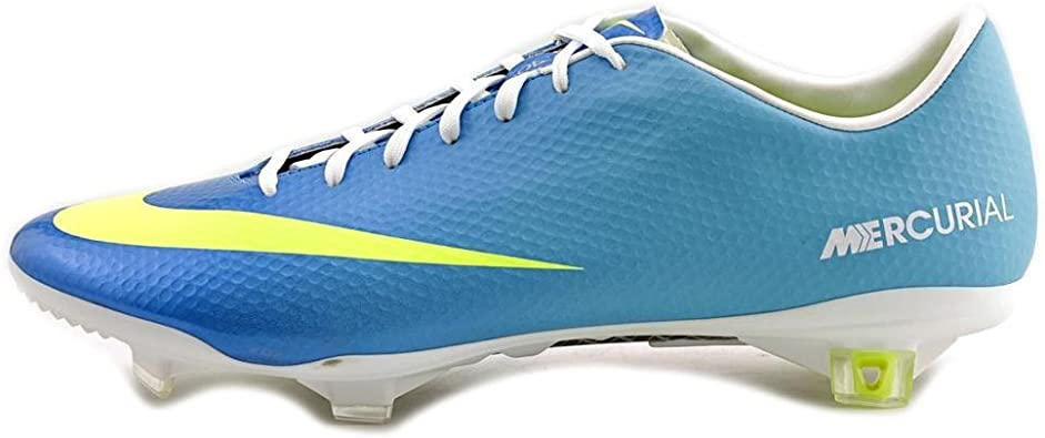 Huracán Abrasivo Bebida  Amazon.com | Nike Mercurial Vapor IX FG Mens Football Boots 555605 474 Firm  Ground Soccer Cleats Neptune Blue (UK 11 US 12 EU 46) | Soccer