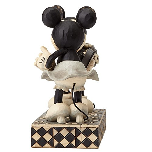 Disney Traditions By Jim Shore Vintage Mickey Mouse And Minnie Mouse Stone Resin Figurine Set
