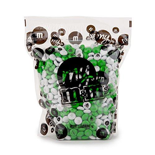 Graduation Custom M&M'S 2lb Bulk Candy Bag (M&m Green)
