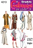 Best  - Simplicity Sewing Pattern 4213 Adult Costumes, A (XS-S-M-L-XL) Review