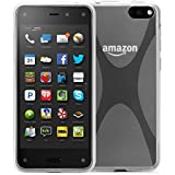 Exact Amazon Fire Phone Case [JUMP Series] - X Design SoftGel Flexible TPU Case Cover for Amazon Fire Phone (2014)