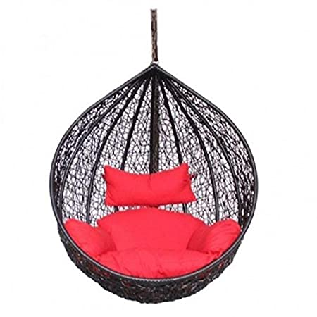 Wicker HUB GC409 Outdoor Swing Without Stand Black