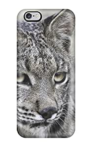 Larry B. Hornback's Shop 8843951K81910840 Hot Tpu Cover Case For Iphone/ 6 Plus Case Cover Skin - Lynx Pictures