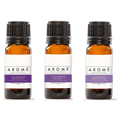 Aromë ESSENTIAL OIL DISCOVERY KIT: LAVENDER (3-PACK), 100...