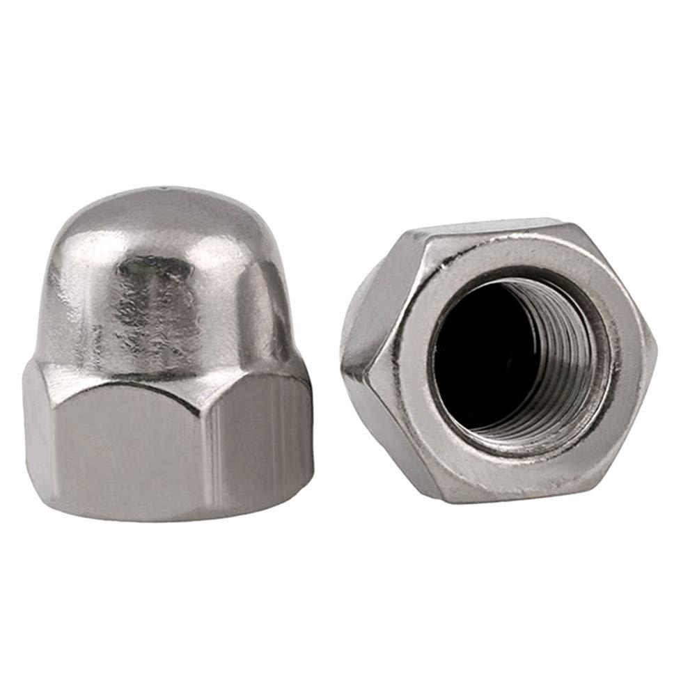 FullerKreg M12-1.75 DIN 1587 A2 Stainless Steel Acorn Nut 8 pcs