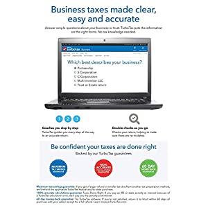 TurboTax Home and Business 2018 Tax Software [PC/Mac Disc] [Amazon Exclusive] New