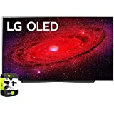 LG OLED48CXPUB 48 inch CX 4K Smart OLED TV with AI ThinQ 2020 Bundle with 1 Year Extended Protection Plan