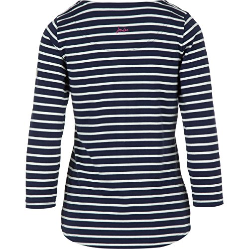 Stripe Harbour w Top Joules Ladies Hope Navy French aR6BxqX