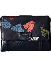 Fossil Ellis Multifunction Wallet Navy Multi Wallet
