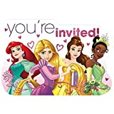 Postcard Invitations | Disney Princess Dream Big Collection | Party Accessory
