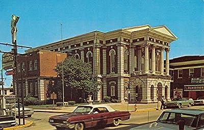 Hopkinsville Kentucky Christian Court House Street View Vintage Postcard K55609