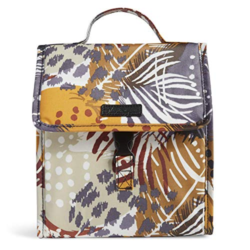 Vera Bradley Lunch Sack, Painted Feathers]()