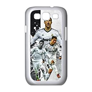 Samsung Galaxy S3 9300 Cell Phone Case White Cristiano Ronaldo ZHO Droid Cell Phone Covers