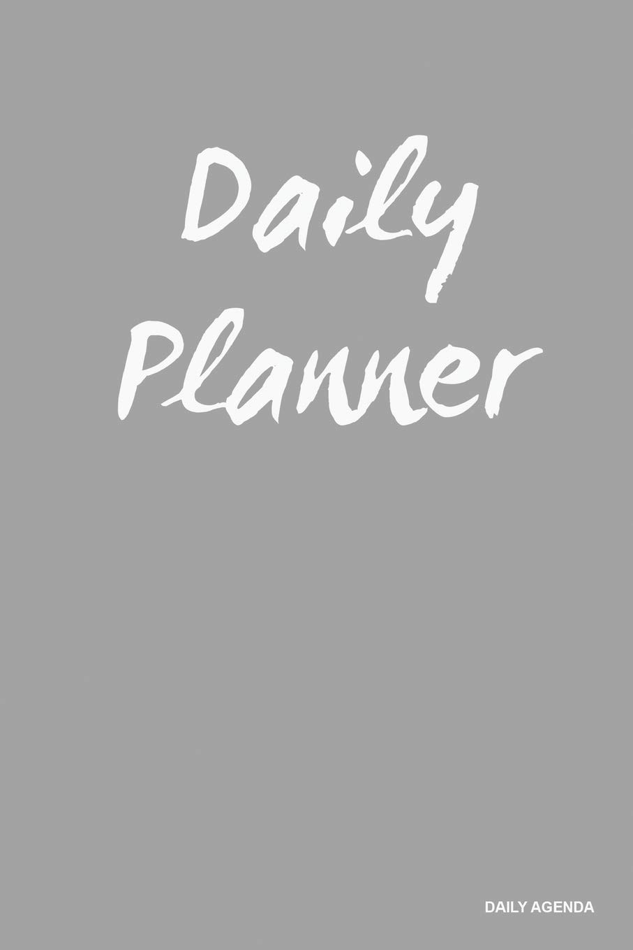Daily Planner - Daily Agenda: Silver, Undated Planner, 90 ...