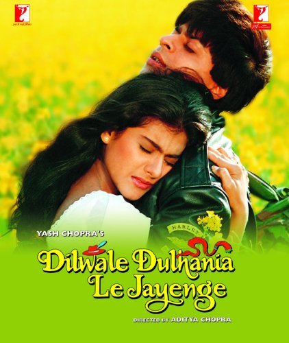 Amazon.com: Dilwale Dulhania Le Jayenge Bollywood DVD With English  Subtitles: Shah Rhan Khan, Shahrukh Khan, Kajol, Yash Chopra, Aditya  Chopra: Movies & TV