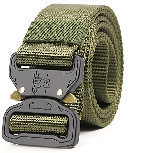 ALAIX Strong Cobra Tactical Belt Heavy-Duty Quick-Release Big and Tall 1.5