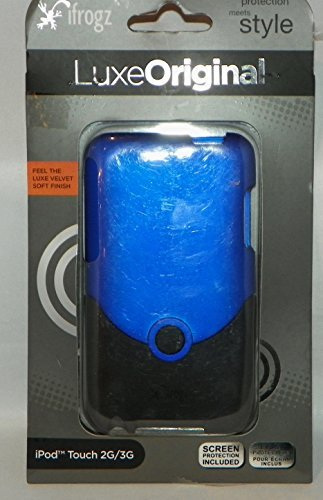 iFrogz Luxe Case for iPod touch 2G, 3G (Blue/Black)