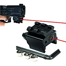 Laser Sight | Rifle Handgun | Weaver or Picatinny Rail | Red Dot Lazer Sight Pistol | Tactical Sights Airsoft | Laser Sight | Scope Hand Guns Rifles | Laser Pointer Pistol | Shotgun | Air Soft Optic
