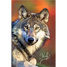 Wolf Journal: Wolf Photography Gifts / Presents for Wolf Lovers ( Large Ruled Notebook with Wolves )