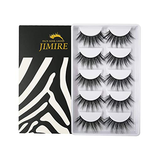 JIMIRE Eyelashes Lashes Fluffy Natural product image