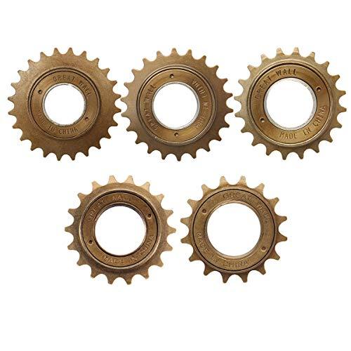 New 16T/18T/20T/22T/24T Bicycle Bike Single Speed Freewheel Flywheel Sprockets Parts - 18