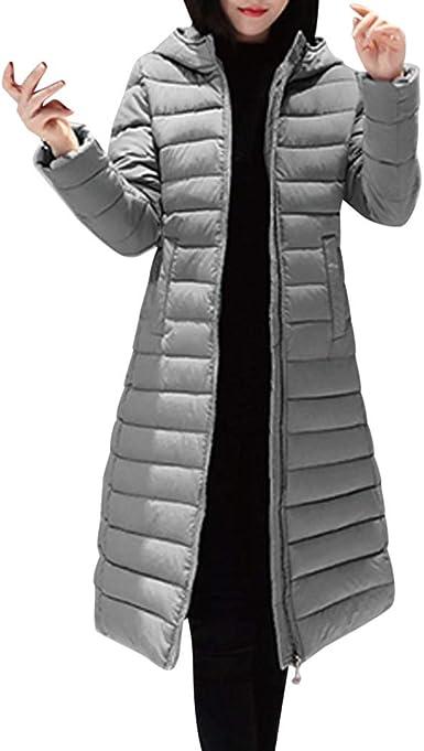 Abrigos De Plumas Mujer Invierno Largas Elegantes Tallas Grandes Paolian Chaquetas Para Mujer Con Capucha Vestir Primavera Fiesta Chaqueton Acolchado Senora Gabardina Amazon Es Ropa Y Accesorios