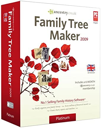 Family Tree Maker 2009 Platinum (PC CD): Amazon.co.uk: Software
