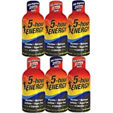 5 Hour Energy Drink Grape and Berry Assortment (6 Pack) with Vitamin B12
