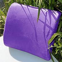 Memory Foam Lumbar Cushion Travel Pillow Car Flight Seat Home Chair Back Support