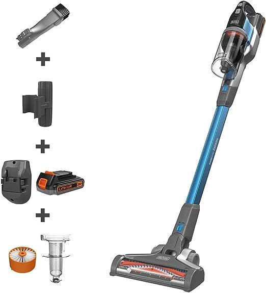 BLACK+DECKER POWERSERIES Extreme Cordless Stick Vacuum, Blue (BSV2020G) best cordless vacuum
