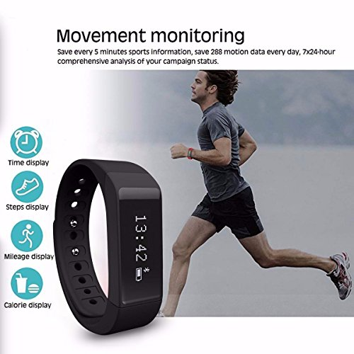 Smart Bracelet,ELEGIANT D6 Plus IP67 Waterproof...