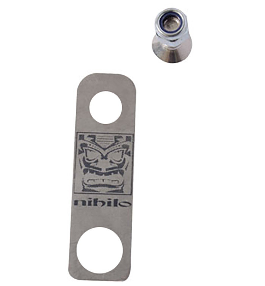 Nihilo Concepts NHSB Stainless Steel Holeshot Device Fork Guard Bracket