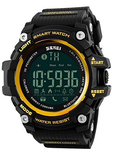 Waterproof Digital LED Multi-function Military Sports Watch Green - 8